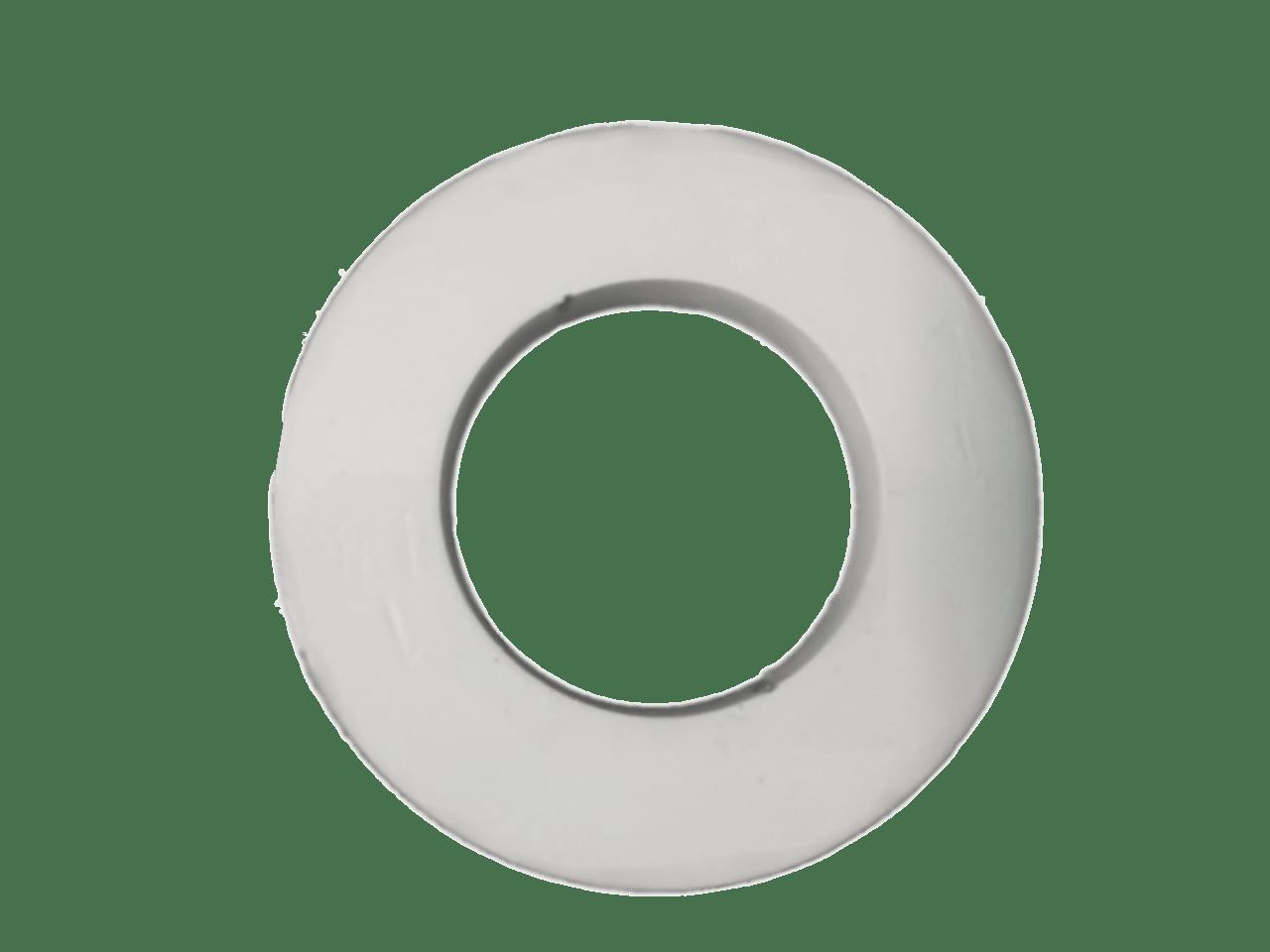 Anilha de ferro Fracionada Branca 1 Lbs