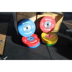 Anilha 20 Kilos Olimpica IWF Oficial Size
